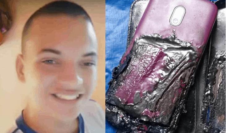 Adolescente de 15 anos morre enquanto usava celular no carregador