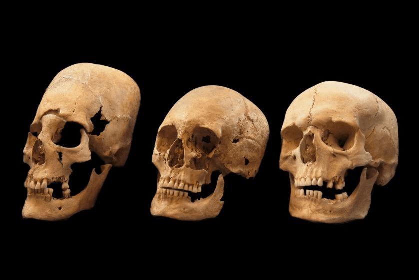 """Esqueletos com cabeças """"alienígenas"""" encontrados na Croácia"""