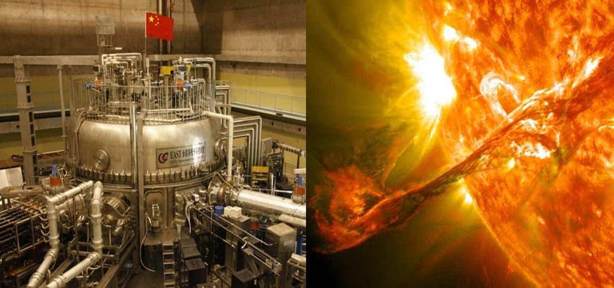 """China está prestes a ativar o seu """"Sol artificial"""" em 2020 que promete gerar energia limpa ilimitada"""