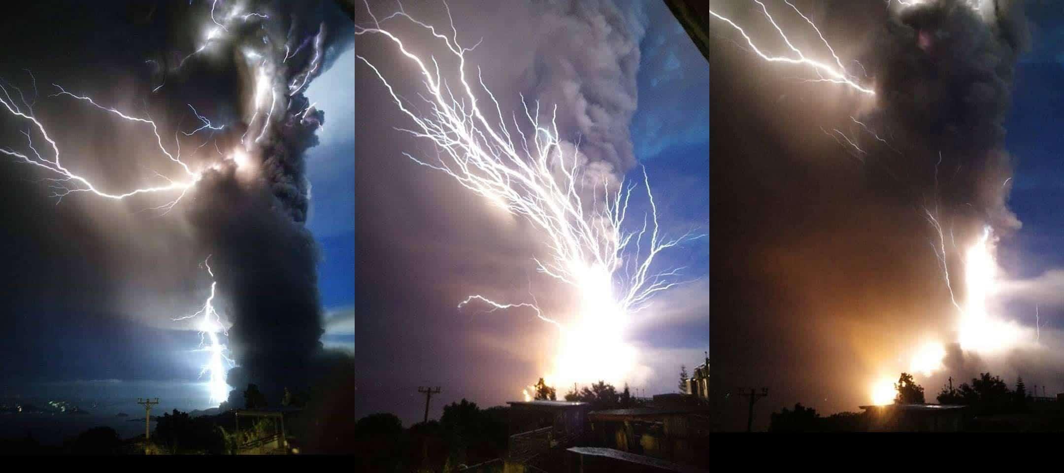 Tempestade de raios aterrorizante: Milhares fogem quando vulcão entra em erupção nas Filipinas